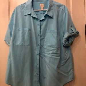 Button down, soft shirt from Chico's